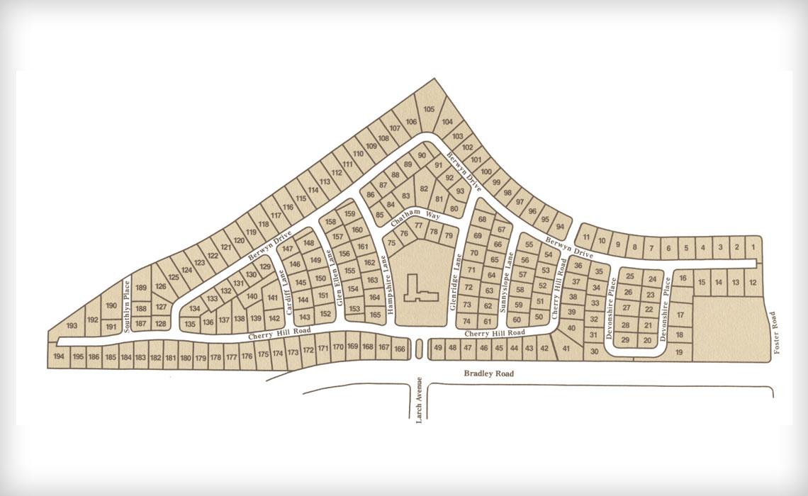 Knollwood-Village floorr plan